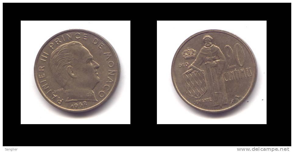 20 CTS 1962 - 1960-2001 Nouveaux Francs