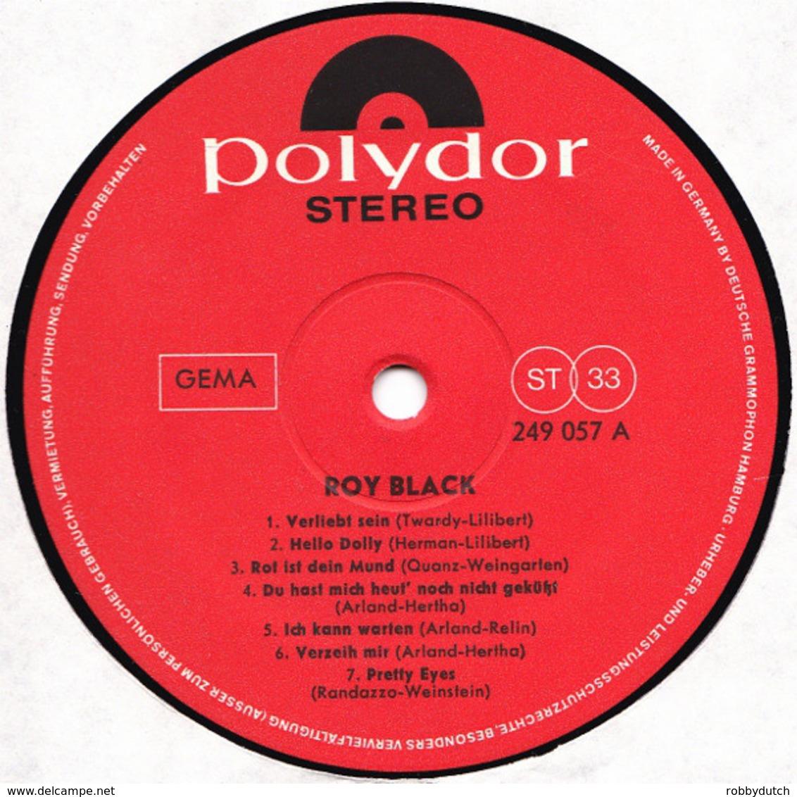 * LP * ROY BLACK - SAME (Germany 1966 Ex-!!!) - Collectors