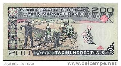 IRAN  200 RIALS  1982  KM#136  PLANCHA/UNC  DL-3404 - Irán