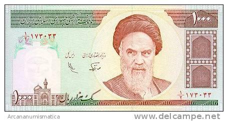 IRAN  1.000 RIALS  1992  KM#143  PLANCHA/UNC  DL-3411 - Irán