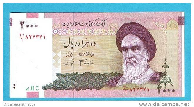 IRAN  2.000 RIALS  2000  PLANCHA/UNC  DL-3415 - Irán