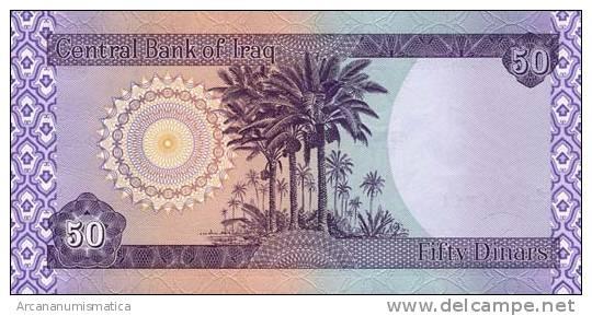 IRAQ/IRAK  50 DINARES 2000  KM#90  PLANCHA/UNC  DL-3394 - Iraq