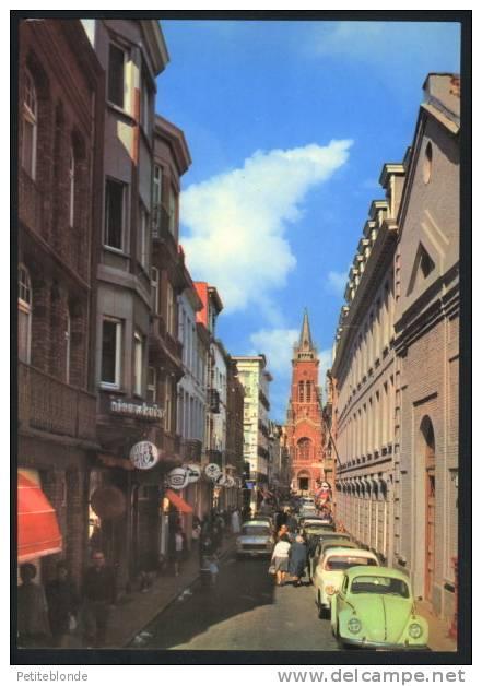 (9847d) - Blankenberge - Molenstraat / Rue Du Moulin + Autos Et Vw Coccinelle / Käfer Verte En Avant-plan - Blankenberge