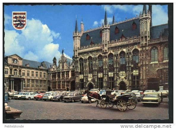 (9863) - Brugge - Stadhuis + Autos Et VW Coccinelle / Käfer - Brugge