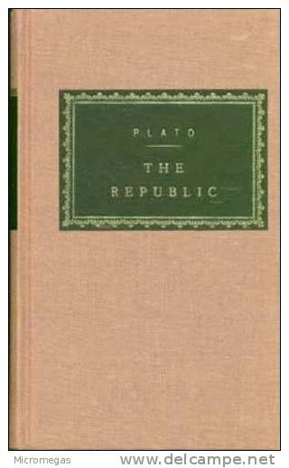 Plato : The Republic - Avant 1700