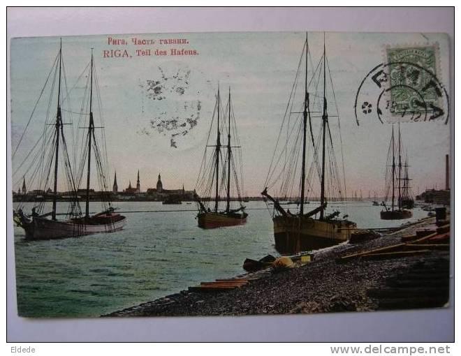 Riga Teil Des Hafens - Lettonie