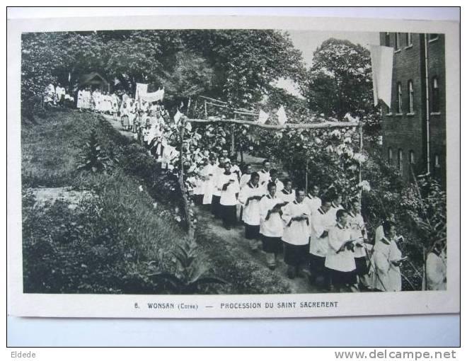 Wonsan Procession Du St Sacrement - Corée Du Sud