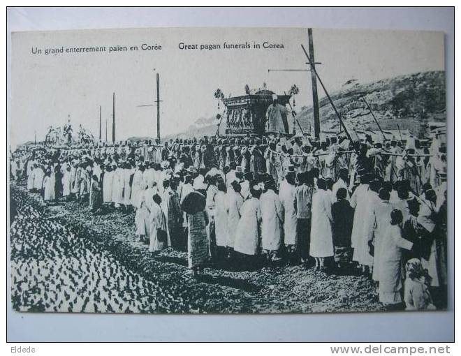 Un Grand Enterrement Paien - Corée Du Sud