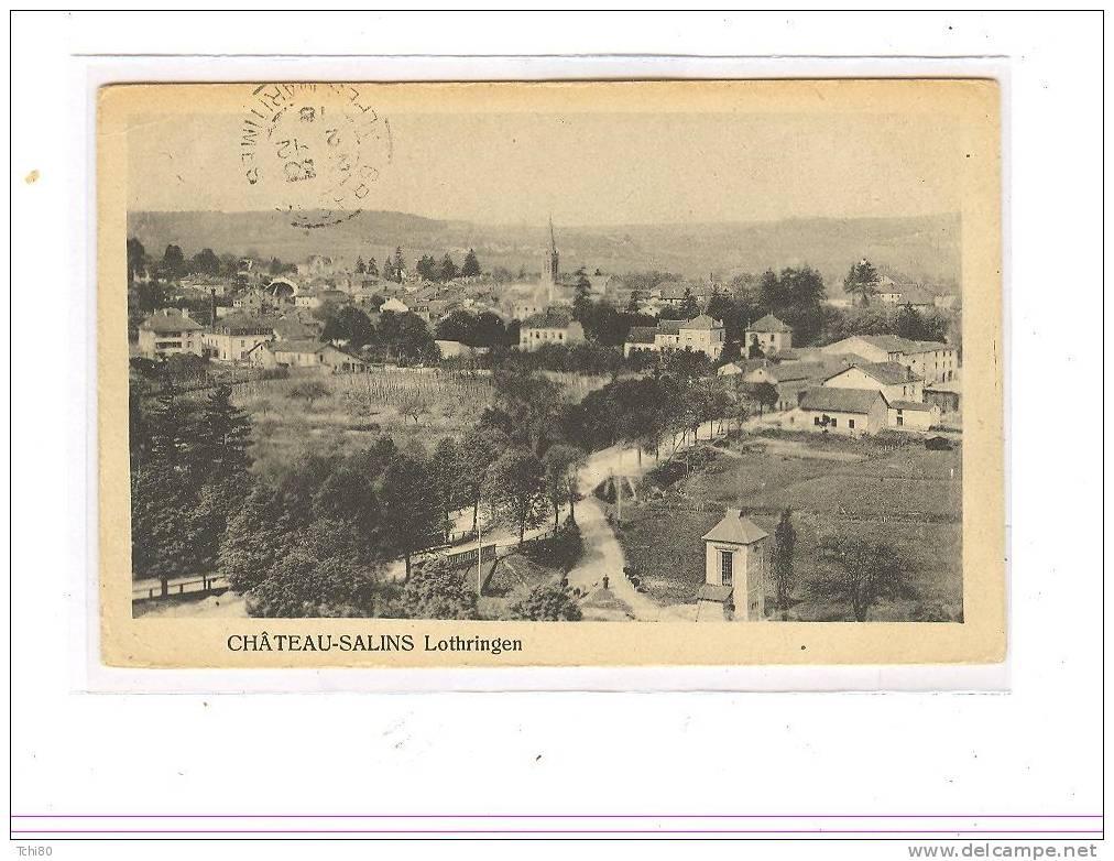 CHATEAU-SALINS - - Chateau Salins