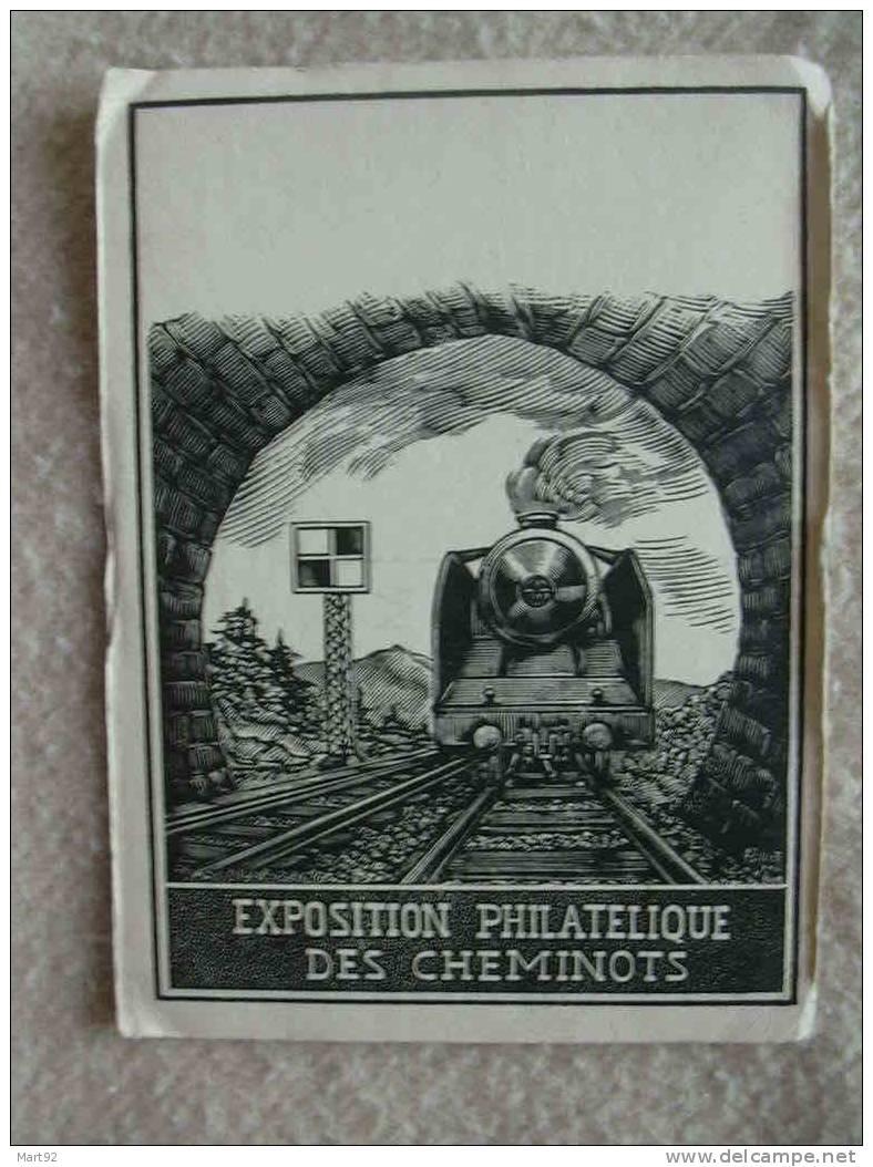 EXPOSITION PHILATELIQUE DES CHEMINOTS - Chemins De Fer