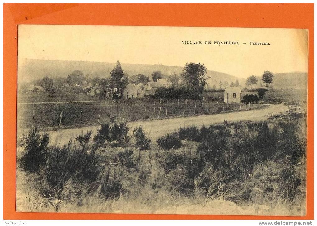 BELGIQUE FRAITURE PANORAMA - Tinlot