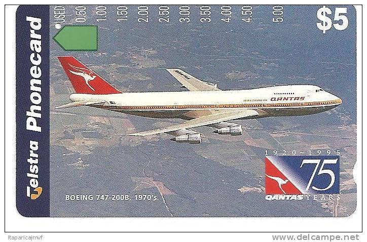 Avion D´australie De Ligne Boeing - Avions