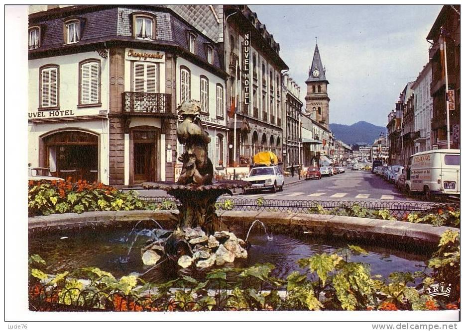 SAINT DIE -  La Rue Gambetta - Saint Die