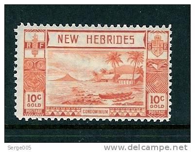 NOUVELLES-HEBRIDES SALES No 2 / 40  MH* - Unclassified