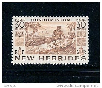 NOUVELLES-HEBRIDES SALES No 2 / 71 M H * - Nieuwe-Hebriden