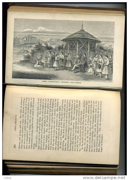 William Hepworth DIXON, « New America », 1867 - Livres, BD, Revues