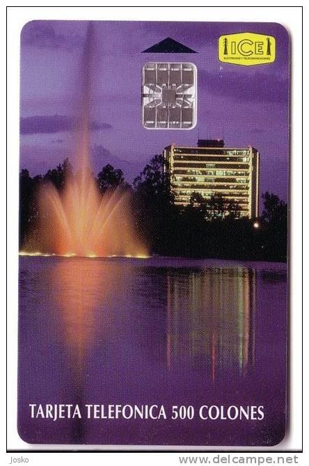 OFICINAS ICE SABANA  ( Costa Rica ) *** Fountain - Fount - Fontaine - Springbrunnen - Fuente - Fontana - Fontein * - Costa Rica