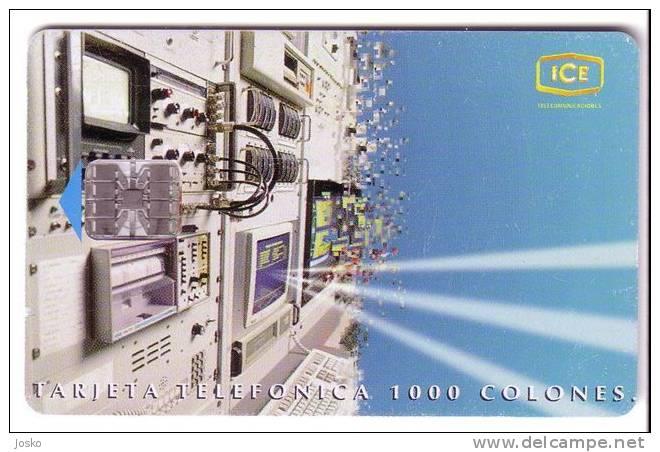 EQUIPOS ESTACION TERRENA TARBACA  ( Costa Rica Limited Card ) - Costa Rica