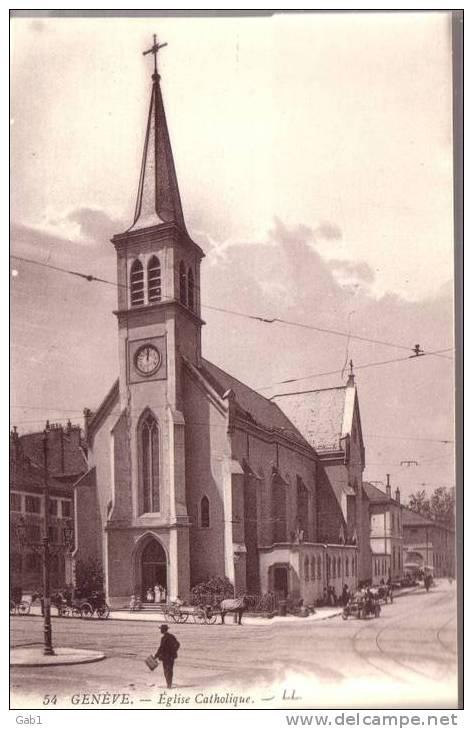 Geneve --- Eglise Catholique - GE Ginevra