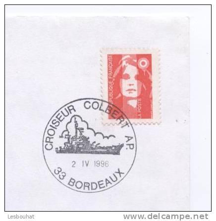 Marcophilie Navale : Croiseur COLBERT à Bordeaux - Boten