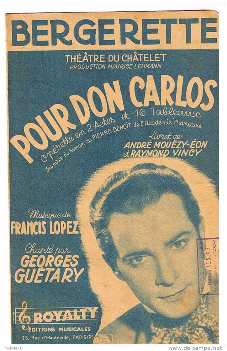POUR DON CARLOS - Musique & Instruments