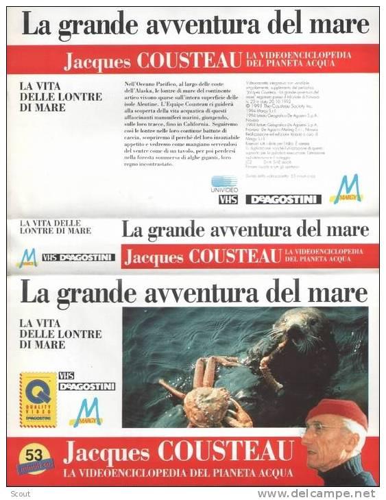 LA GRANDE AVVENTURA DEL MARE - LA VITA DELLE LONTRE DI MARE - Documentaires