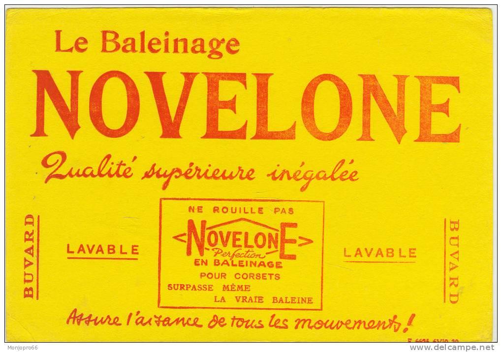 Buvard Le Baleinage NOVELONE - Blotters