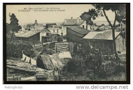 17 SAINT TROJAN (Ile D'Oléron) Vue Générale Vers Le Chapus - Ohne Zuordnung
