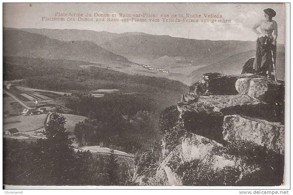 Plateau-forme Du Donon Et Raon Sur Plaine - France