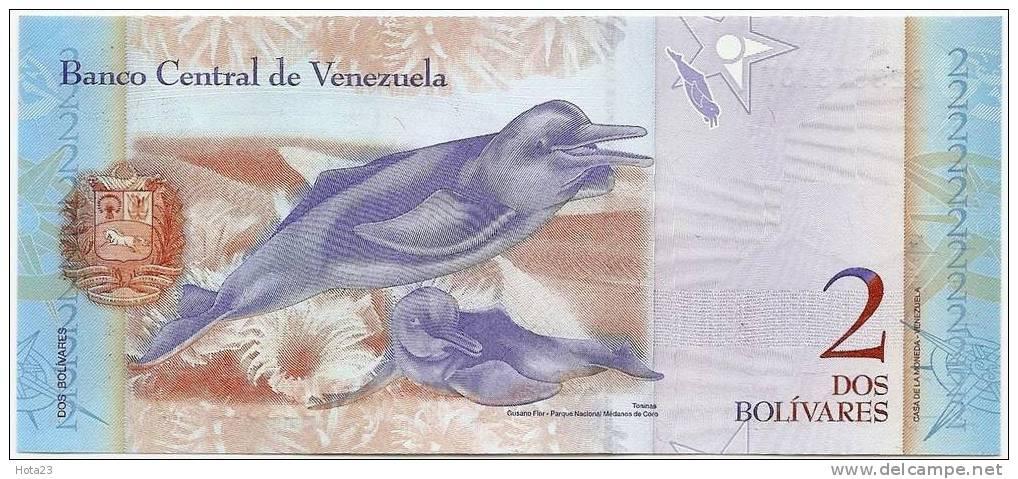 Venezuela 2 Bolivares 2007  UNC - Venezuela