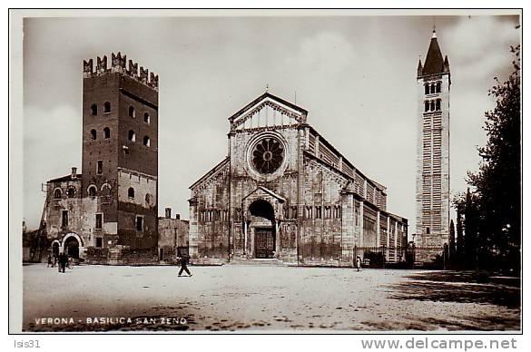 Italie - P669 - Veneto - Verona - Verone - Basilica San Zeno - Bon état - Verona
