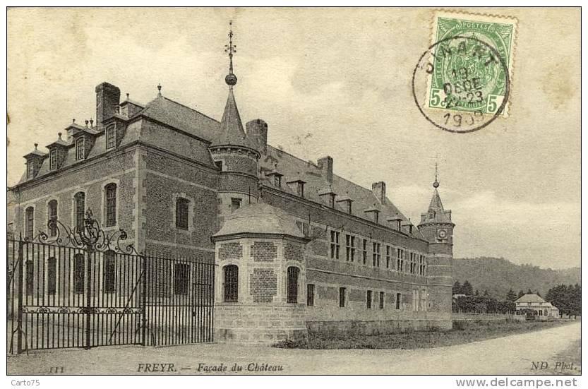 BELGIQUE - FREYR - Château - Hastière
