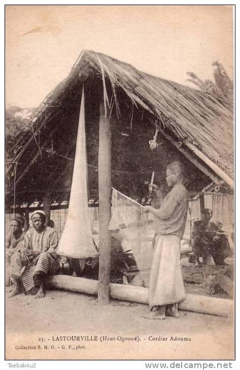 Gabon  -  Lastourville  -  Haut-Ogooué  -  Cordier Adouma - Gabon