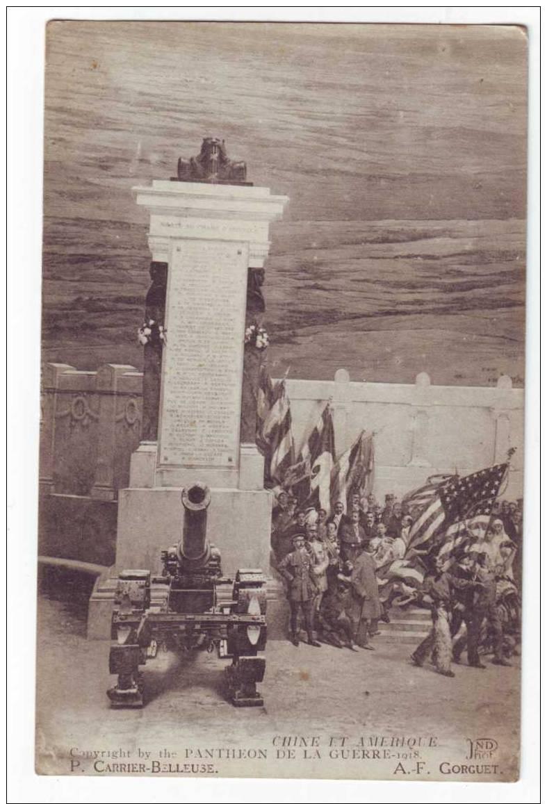 Chine Et Amerique - Guerre 1914-18