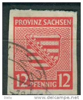 Deutschland Sachsen - Allemagne Saxe 1945, Armoiries - Autres - Europe