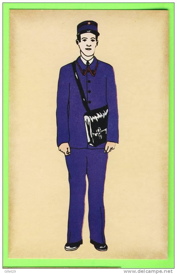 POSTE - FACTEUR RURAL EN COSTUME,1939 - IMP. PIERRON - - Poste & Facteurs