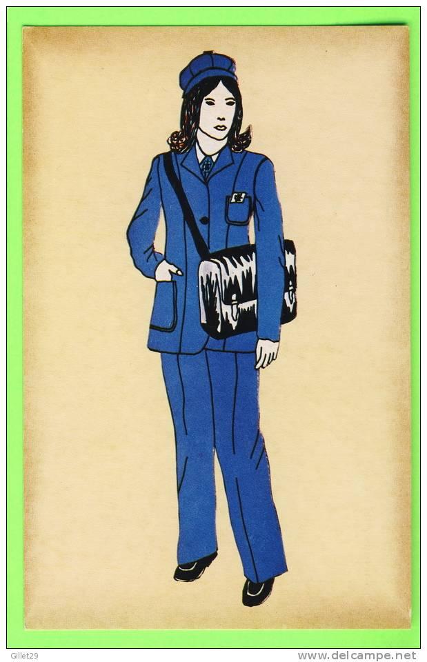 POSTE - FACTEUR RURAL ,1978 - IMP. PIERRON - - Poste & Facteurs
