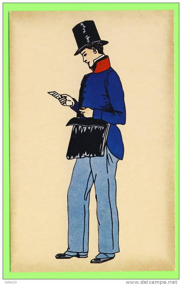 POSTE - FACTEUR RURAL EN JAQUETTE, 1835 - IMP. PIERRON - - Poste & Facteurs