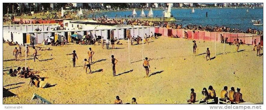 LOIRE ATLANTIQUE / LE POULIGUEN / PORT Plaisance & Pêche + PLAGE  ( 3 Parties De BEACH-VOLLEY = VOLLEYBALL ) - Volleyball