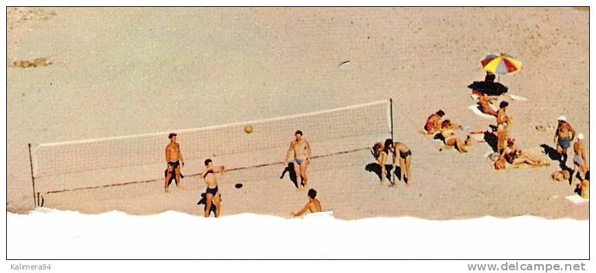 VAR  /  CAVALAIRE  /  LA  PLAGE  DE  BON-PORTO   ( Entrainement De BEACH-VOLLEY = VOLLEYBALL ) - Volleyball