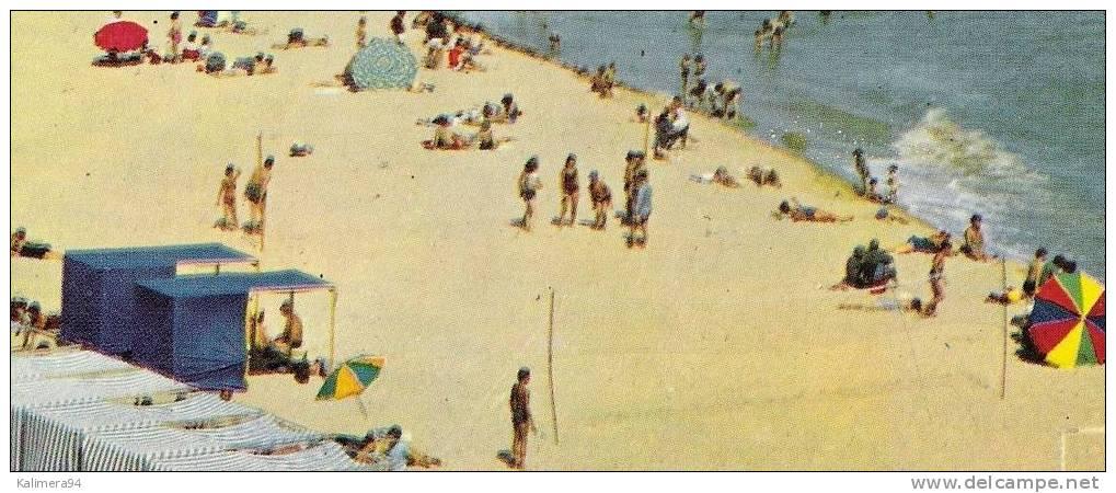 VENDEE  /  LA  TRANCHE-sur-MER  /  VUE  GENERALE  DE  LA  PLAGE   ( 2 Filets De BEACH-VOLLEY = VOLLEYBALL ) - Volleyball