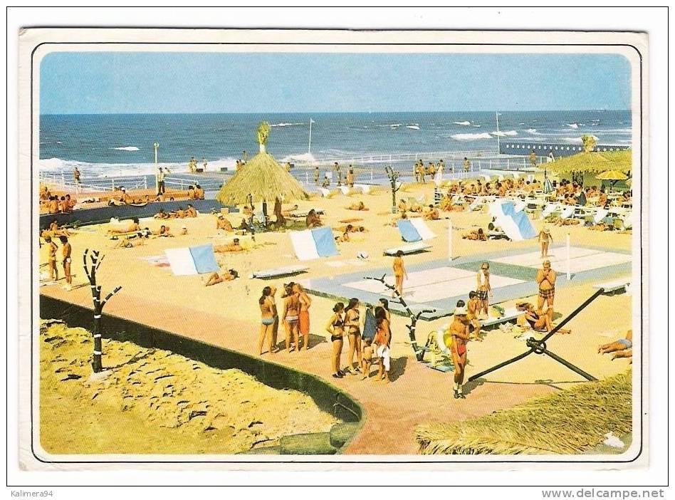 MAROC / CASABLANCA / PISCINE TAHITI   ( Filet De BEACH-VOLLEY  = VOLLEYBALL SUR MATELAS ELASTIQUES ) - Volleyball