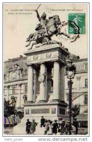 Clermont-Ferrand, Statue De Vercingétorix - Clermont Ferrand