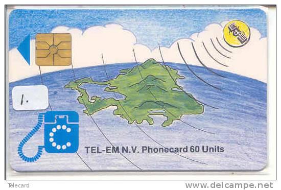 SAINT-MARTIN (1) Télécarte Phonecard Telefonkarte * St. MARTIN * ST. MAARTEN - Otros – Oceanía