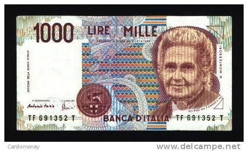 ITALIE 1000 Lires 3/10/1990 ITALIA - Italia – 10 Lire