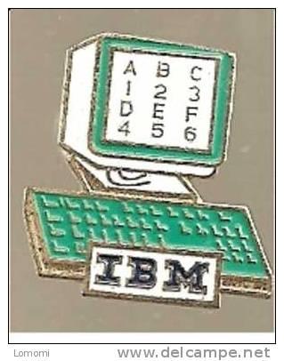 I B M   . - Informatique
