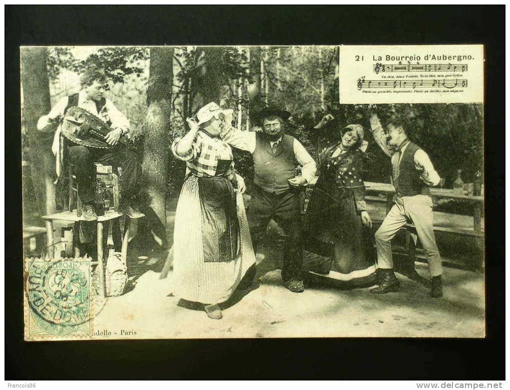 La Bourreio D'Aubergno - - Danses