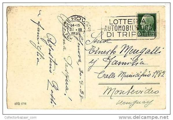 VINTAGE Ca1900 Postal Postcard With Angel And Bells - Angeles
