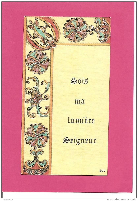 SOIT MA LUMIERE SEIGNEUR - Devotion Images