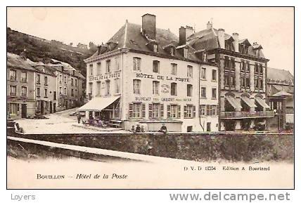 BOUILLON.  -  Hotel De La Poste. - Bouillon